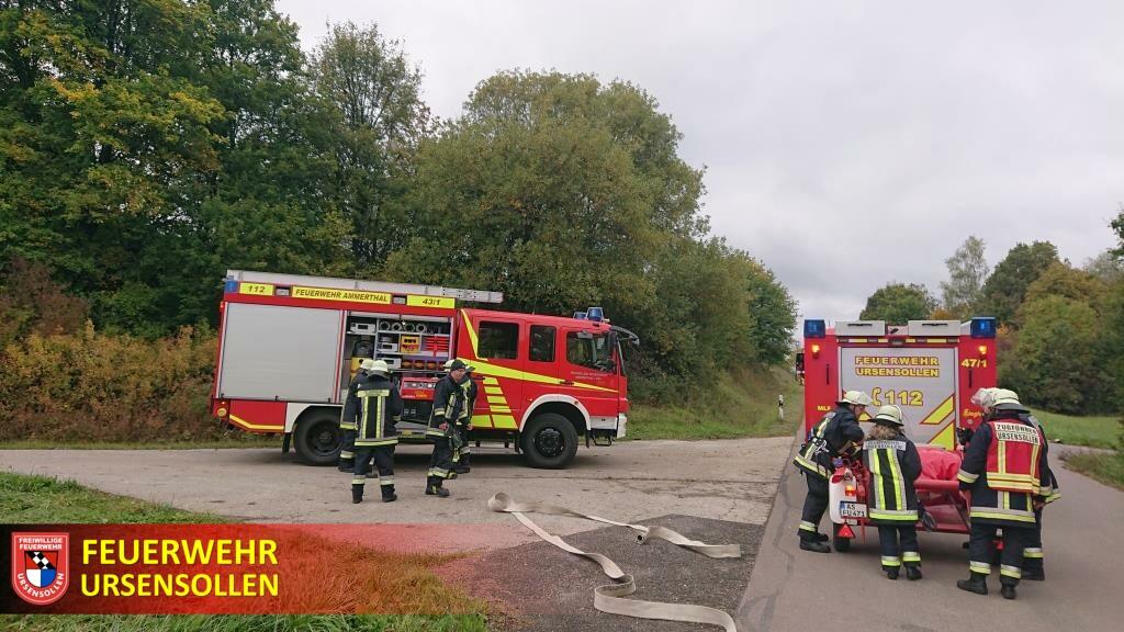 Wasserversorger und Feuerwehr üben gemeinsam - Löschwasserversorgung in Kotzheim gesichert